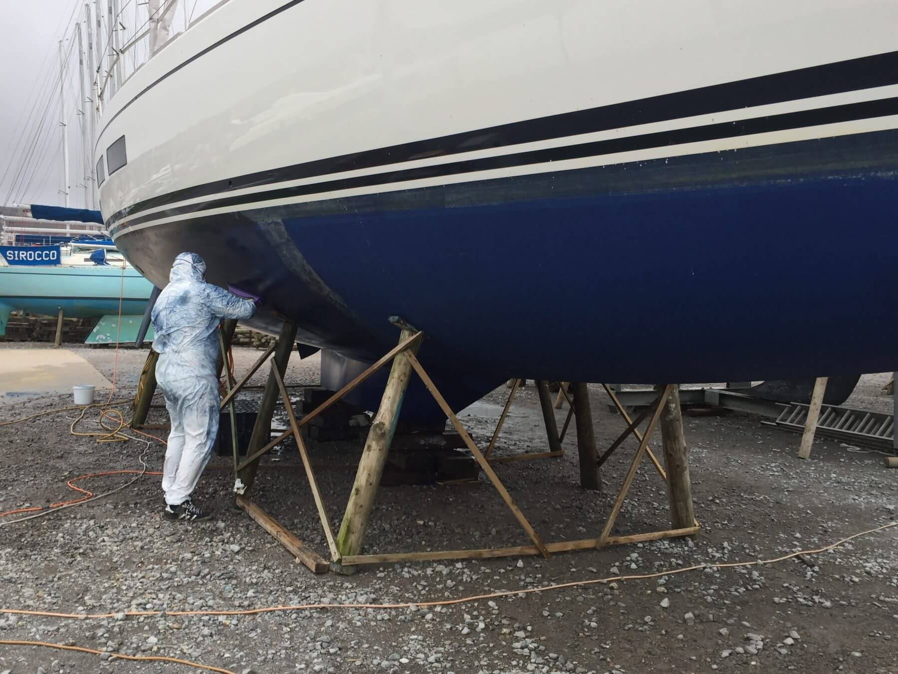 Hull preparation and antifouling
