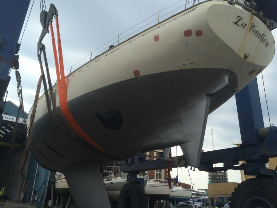 75 ketch hull