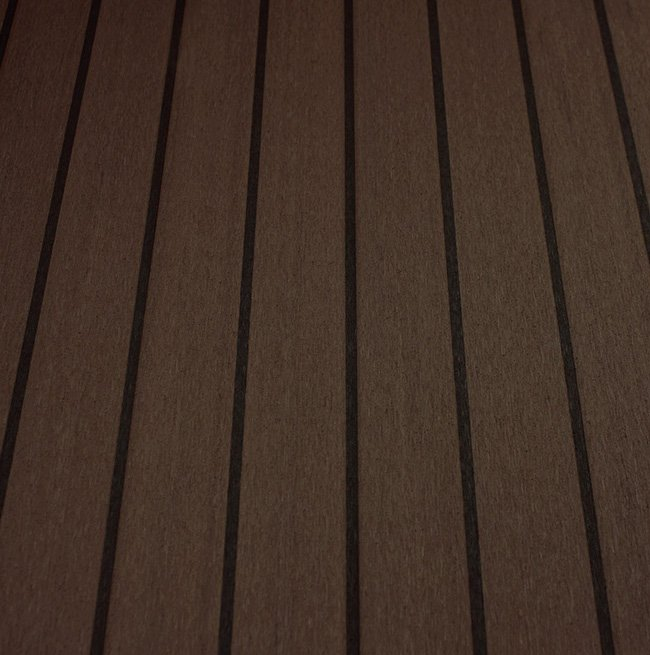 black cherry and black synthetic teak deck Vortec Marine