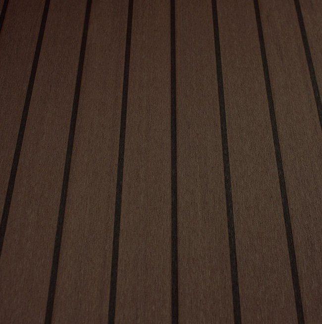 black cherry and black synthetic teak deck Vortec Marine