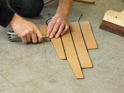 preparing dek-king panels
