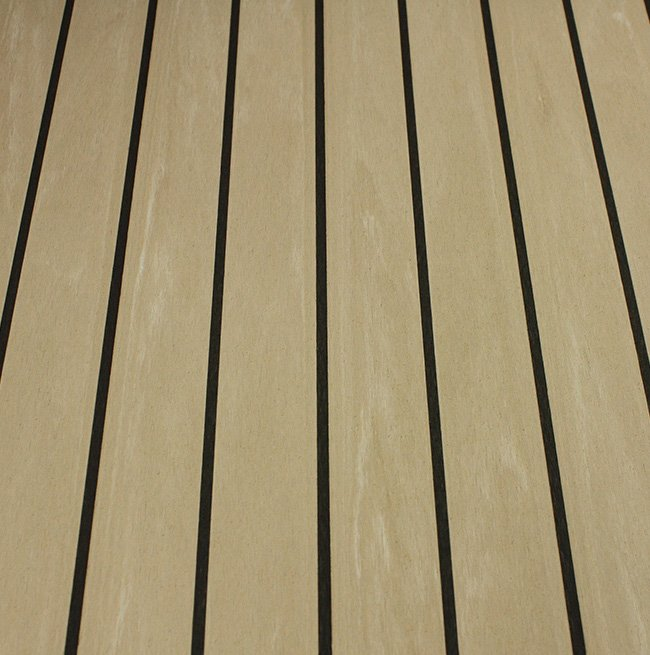 weathered black synthetic dek-king decking Vortec Marine