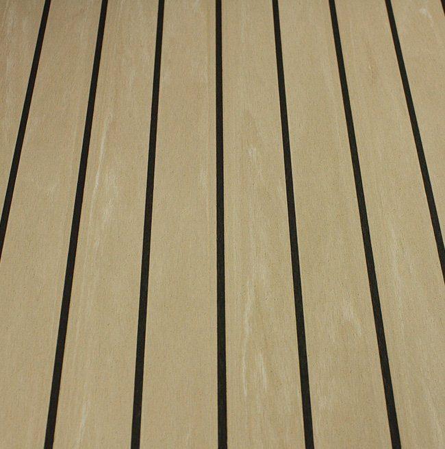 weathered black synthetic dek-king decking Vortec Marine
